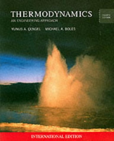 9780071121774: Thermodynamics (Mcgraw-Hill Series in Mechanical Engineering)