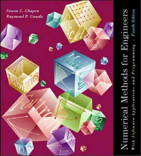 9780071121804: Numerical Methods for Engineers: With Software and Programming Applications