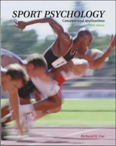 9780071121873: Sport Psychology: Concepts and Applications 5/e