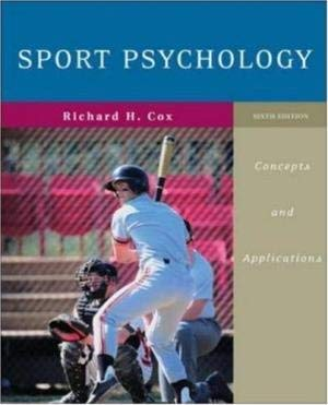9780071121880: Sport Psychology: Concepts and Applications