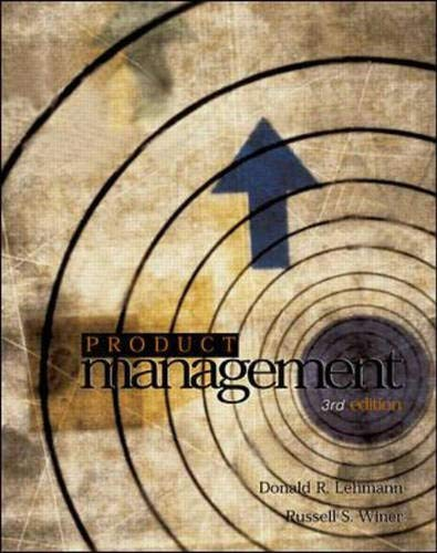 9780071122269: Product Management (McGraw-Hill/Irwin Series in Marketing)