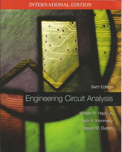 9780071122276: Engineering Circuit Analysis: SIXTH EDITION