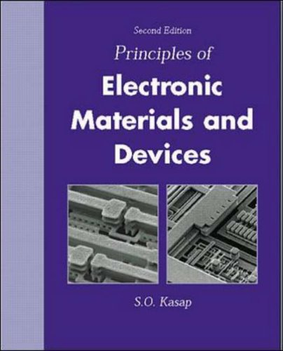 9780071122368: Principles of Electronic Materials and Devices: With CD-ROM