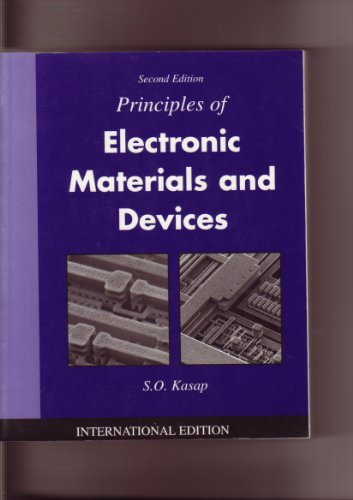 9780071122375: Principles of Electronic Materials and Devices
