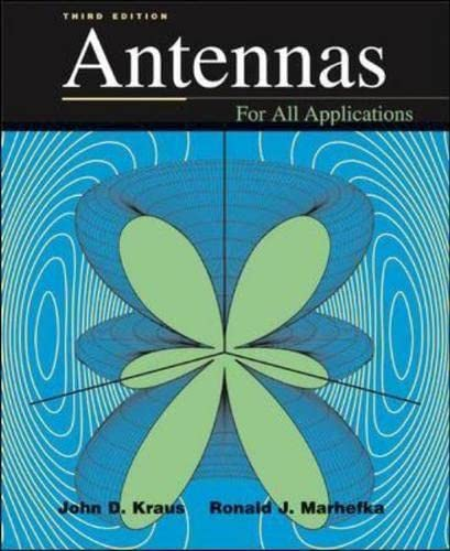 9780071122405: Antennas (Mcgraw-Hill Series in Electrical Engineering)