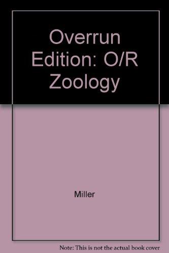 Zoology (Paperback 2002) (9780071122511) by Stephen Miller; John Harley