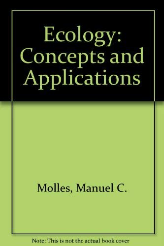 9780071122528: Ecology Concepts and Applications [Second Edition] by Manuel C Molles Jr