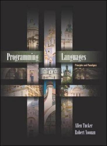 9780071122801: Programming Languages: Principles and Paradigms