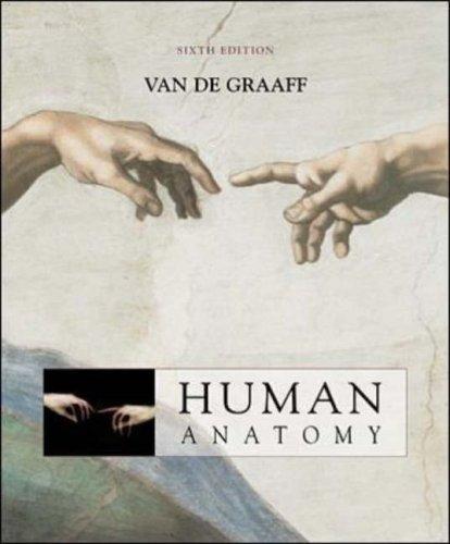 9780071122849: MP: Van De Graaff Human Anatomy 6/e + OLC password card + ESP + Strete/Creek's Atlas to Human Anatomy