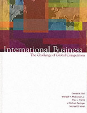 9780071122979: International Business: The Challenge of Global Competition