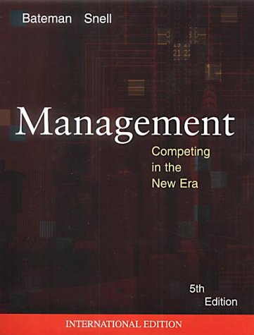 9780071122986: Management: Competing in the new era