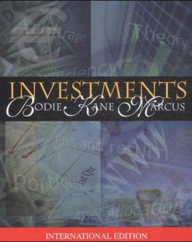 9780071123051: Investments (McGraw-Hill/Irwin Series in Finance, Insurance, and Real Est)