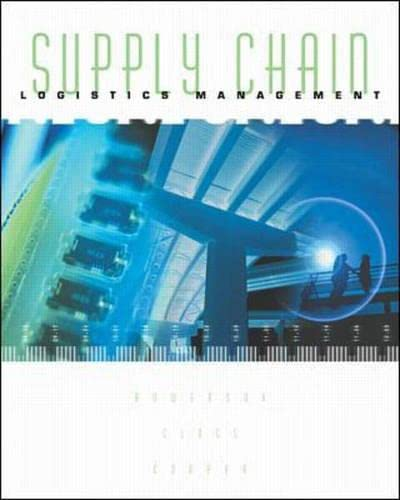 9780071123068: Supply Chain Logistics Management (Irwin/Mcgraw-Hill Series. Operations and Decision Sciences,)