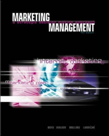 9780071123082: Marketing Management (McGraw-Hill/Irwin Series in Marketing)
