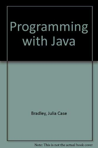 9780071123099: Programming with Java