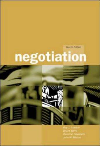 9780071123150: Negotiation