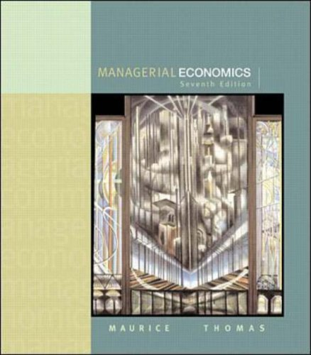 9780071123211: Managerial Economics: Applied Microeconomics for Decision Making