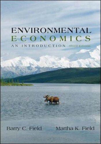 9780071123334: Environmental Economics (McGraw-Hill International Editions Series)