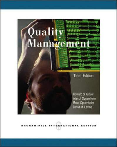 9780071123389: Quality Management