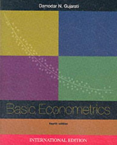 9780071123426: Basic Econometrics