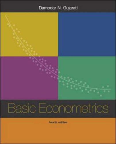 9780071123433: Basic Econometrics