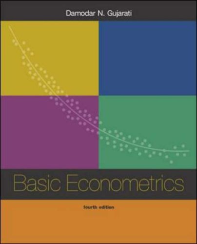9780071123433: Basic Econometrics 4/e
