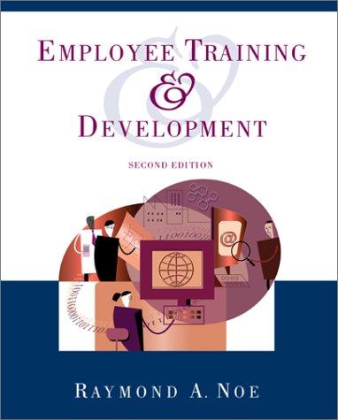 9780071123495: Employee Training and Development