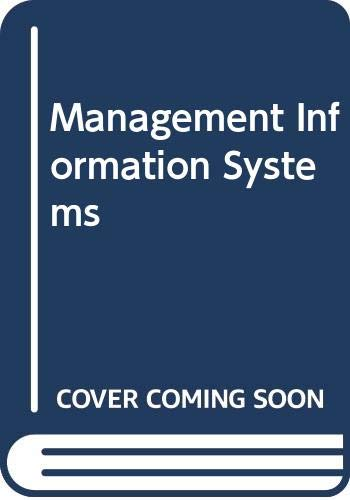 9780071123501: Management Information Systems