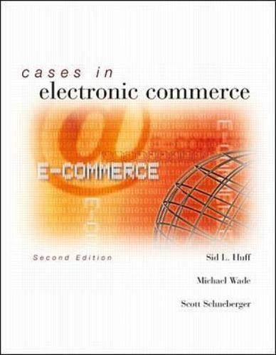 9780071123525: Cases in Electronic Commerce
