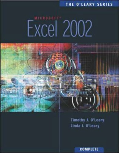 9780071123570: The O'Leary Series: Excel 2002- Complete: Complete Edition