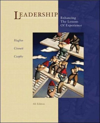 9780071123600: Leadership: Enhancing the Lessons of Experience (McGraw-Hill International Editions Series)