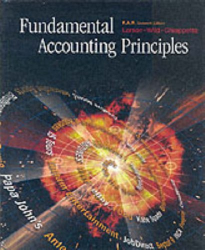 Fundamental Accounting Principles: Kermit D. Larson,
