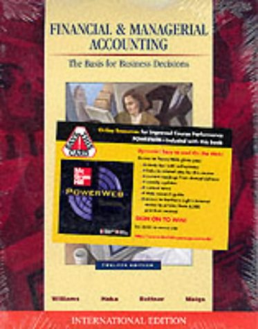 9780071123839: Financial and Managerial Accounting