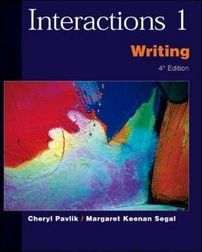 9780071123884: Interactions 1: Writing