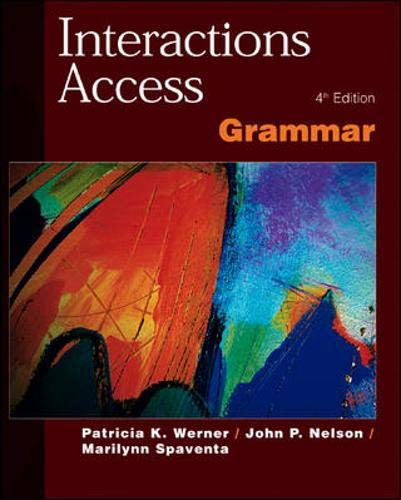 9780071124027: Interactions Access: Grammar