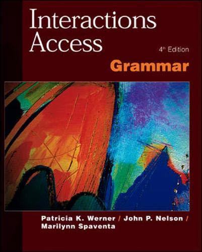 9780071124027: Interactions Access - Grammar