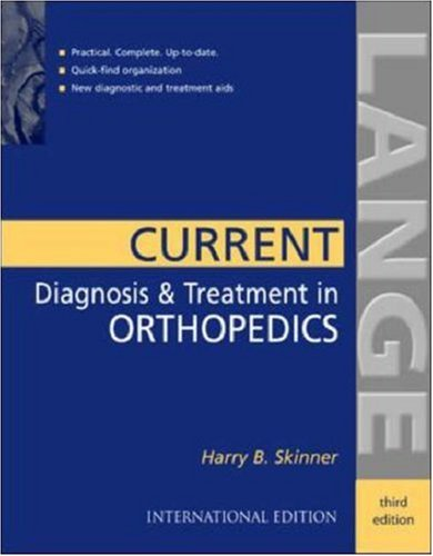 9780071124133: Current Diagnosis and Treatment in Orthopedics (Stm08)