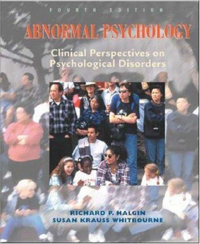 9780071124188: Abnormal Psychology