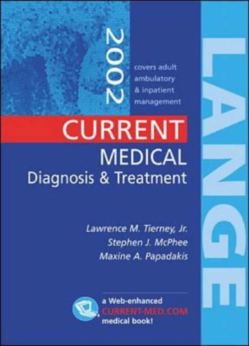 9780071124430: Current Medical Diagnosis and Treatment 2002 (Lange Medical)