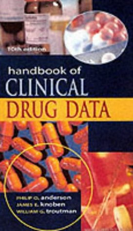 9780071124454: Handbook of Clinical Drug Data