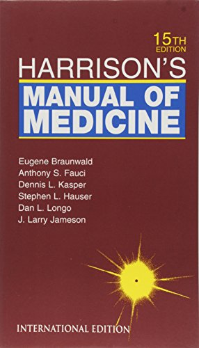9780071124461: Harrison's Manual of Medicine (McGraw-Hill International Editions Series)