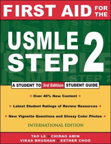 9780071124645: First Aid for the Usmle: Step 2