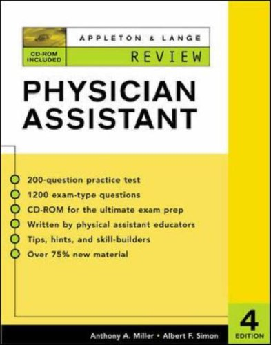 9780071124669: Appleton & Lange's Review for the Physician Assistant (Appleton & Lange Review)