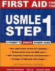 9780071124690: First Aid Usmile Step 1
