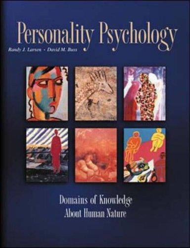 9780071124713: Personality Psychology