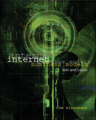 9780071124737: Internet Business Models: Text and Cases with Teledesic Case CD-ROM