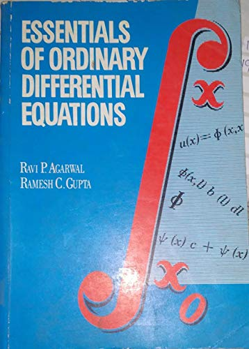 9780071125086: Essentials of Ordinary Differential Equations