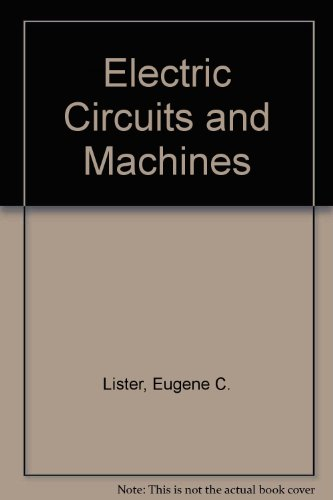 9780071125123: Electric Circuits and Machines