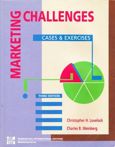 9780071125130: Marketing Challenges: Cases and Exercises