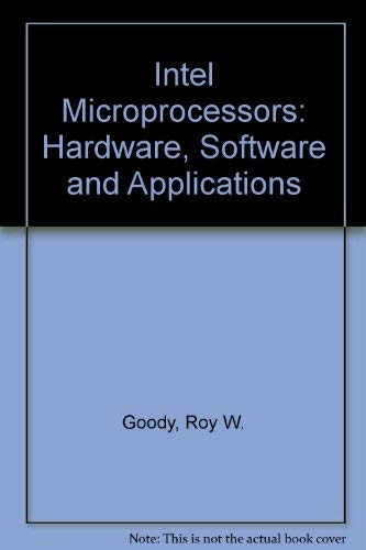 9780071125154: Intel Microprocessors: Hardware, Software and Applications